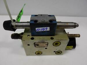 Modular Controls Hydraulic Manifold Assembly Mcd 2474a