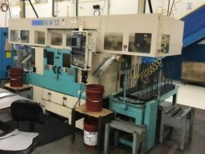 Muratec Model murata Mw12 Cnc Twin Spindle Turning Center 1998