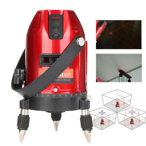 Waterproof 3d Self leveling 360 5line 6point Rotary Laser Level Measure Tool