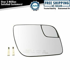 Mirror Glass 5 25 Inch With Convex Spotter Passenger Right Rh For Ford Explorer