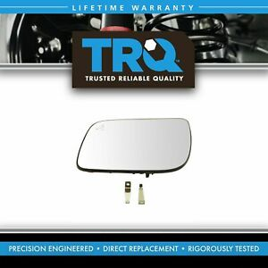 Mirror Glass 5 25 Inch Heated Blind Spot Driver Side Left Lh For Ford Explorer