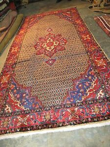 Semi Antique Kurd Serab Hand Knotted Persian Wool Rug 5 X 11 9 Gallery Runner