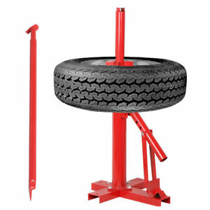 Portable Manual Tire Changer Autos Motorcycle Bead Breaker Mounting Tools Kits