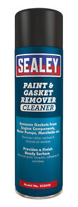 Scs042 Sealey Paint Gasket Remover 500ml Pack Of 6 maintenance consumables
