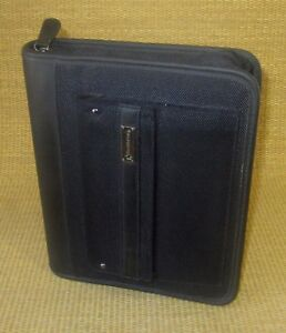 Classic 1 25 Rings Black Durable Sport Franklin Covey Zip Planner binder
