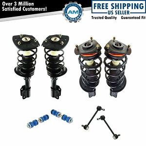 8 Piece Suspension Kit Complete Loaded Strut Assemblies W Sway Bar End Links