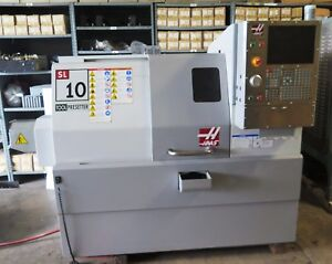 2008 Haas Sl 10 Cnc Lathe Turning Center Tool Presetter Low Hours