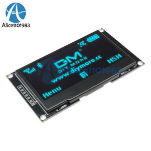 2 42 Inch Blue Oled Display Ssd1309 128x64 Spi iic Serial Port For Arduino C51