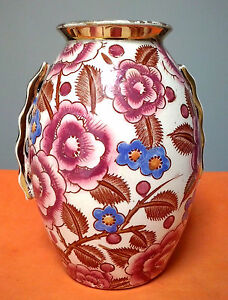 Art Deco Boch Freres Keramis Small Size Shangai Vase By Charles Catteau