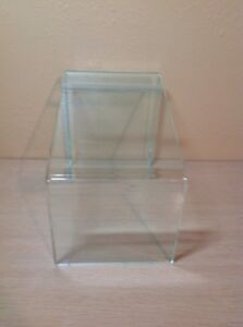 Clear Acrylic Angled Store Boot Or Shoe Display Riser 9 1 2 Tall