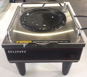 Bunn Rws1 Commercial Satellite Single Pot Coffee Warmer Portable Server Used