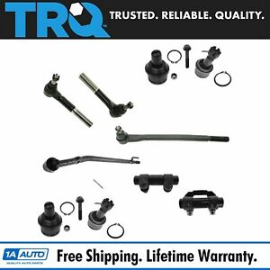 Suspension Front Kit Set Of 10 For Ford Excursion F250sd F350 Pickup 2wd