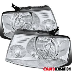 For 2004 2008 Ford F150 2006 2008 Lincoln Mark Lt Clear Headlights Left Right