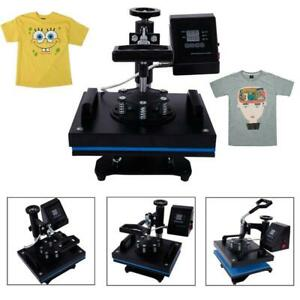 Transfer Sublimation T shirt Heat Press Machine With Lcd Temperature Control Us