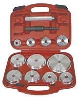 Lisle Corporation 12800 Pneumatic Master Bearing Race And Seal Driver Set
