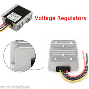 Universal Dc Voltage Stabilizer Automatic Voltage Regulator 8 40v To 12v 6a 72w