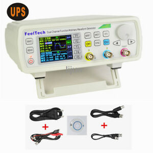 Dds 30m Dual Channel Function Arbitrary Waveform Generator Fy6600 Feeltech Ups