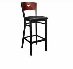 New Commercial Star Back Metal Barstool Restaurant Seating Furniture 860bs