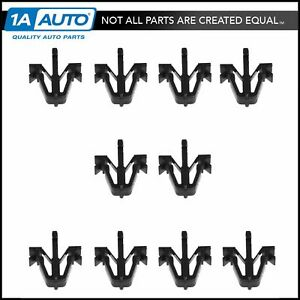Oem Grille Mounting Clip Kit Set Of 10 For Toyota Pickup Truck 4runner Tacoma