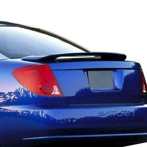For Saturn Ion 03 07 Pure Abs 533 unpainted Factory Style Rear Spoiler Unpainted