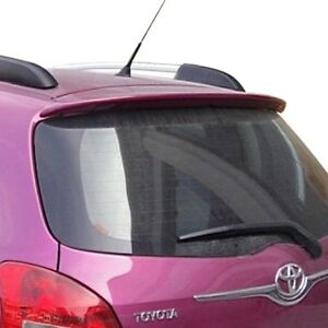 For Toyota Yaris 06 11 Pure Factory Style Fiberglass Rear Roof Spoiler Unpainted