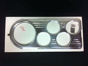 1948 1949 1950 Ford Truck 5 Hole Billet Dash Insert