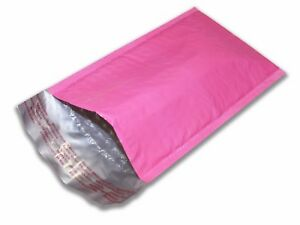 250 0 6x10 Pink Poly Bubble Mailers Mailing Padded Envelopes Bags Kca 6 x10