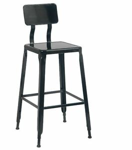 New Indoor Black Metal Barstool Commercial Seating Restaurant Furniture 2129bs
