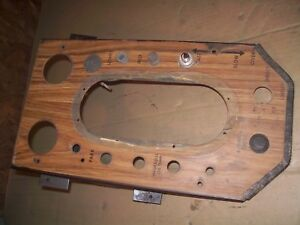 Oliver 1755 1855 1955 2255 Farm Tractor Factory Original Dash Panel Nice
