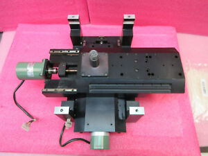 Amat Newport 6x12 Motorized Dual Xy Linear Stage 2 Stepping Motor 14x9 Frame 2