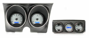 Dakota 67 Camaro Firebird W console Gauges Analog Dash Kit Vhx 67c cac