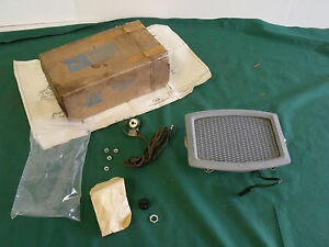 Nos 1965 1966 Ford Thunderbird Rear Speaker Kit Fomoco 66