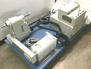 Epson G6 651sw Scara 4 axis Robot W rc620 Controller Drive Unit Cables works