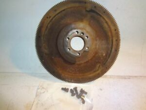 5 7l Manual Flywheel With Bolts For 69 85 Chevrolet 20 Pickup