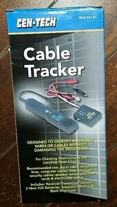 Nip Cable Tracker Identify Trace Wires Cables Model 94181