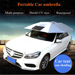 Portable Universal Outdoor Car Sun Shade Tent Umbrella Roof Cover Uv Protection