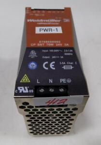 Weidmuller Power Supply Connect Power 250v Pwr 1