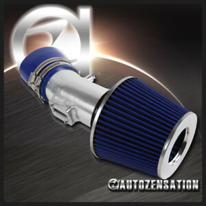 For 2007 2012 Nissan Altima V6 Cold Air Intake System Pipe Induction Blue Filter