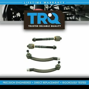 Front Inner Outer Tie Rod Assembly End Kit Set Of 4 For 03 08 Mini Cooper New