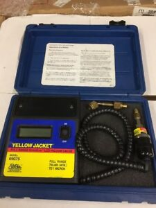 Ritchie Yellow Jacket 69075 Digital Micron Vacuum Gauge Superevac