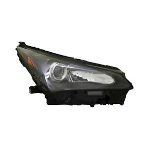For Lexus Nx300h 15 17 Replace Lx2519143n Passenger Side Replacement Headlight