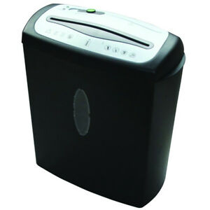 8 Sheet Cross cut Paper Cd And Credit Card Shredder