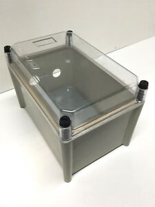 Hammond Manufacturing Pc Enclosure Non metallic 10 75 X 7 25 X 7 5 holes