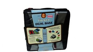 Case it Locker Dual Base Binder With 2 X 1 1 2 Inch Rings With Add on Black