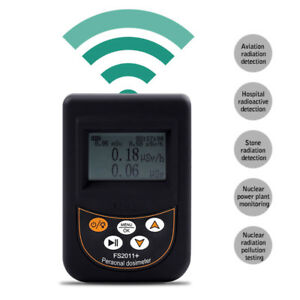 Geiger Counter Nuclear Radiation Detector Personal Dosimeter Marble Meter