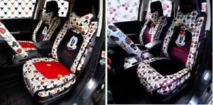 New Listing Mickey Minnie Mouse Car Seat Cushions Accessories Set