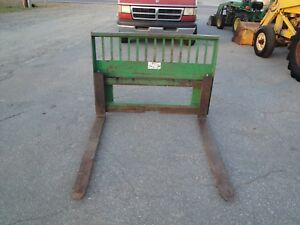 John Deere 3 4 And 5 Series Quick Attach 48 Inch Pallet Fork s
