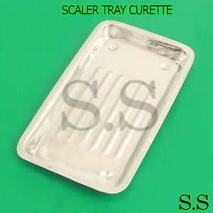 20 Scaler Trays Curettes Explorers Mirrors Probes Surgical Dental Instruments