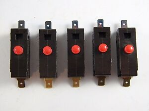 5 Robertshaw Push Button Switches Ap1 15a 125 250 V a c