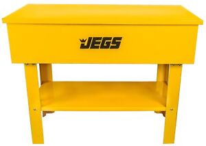 Jegs 40 Gallon Parts Washer With 24 Gallon Solvent Capacity Electric Pump